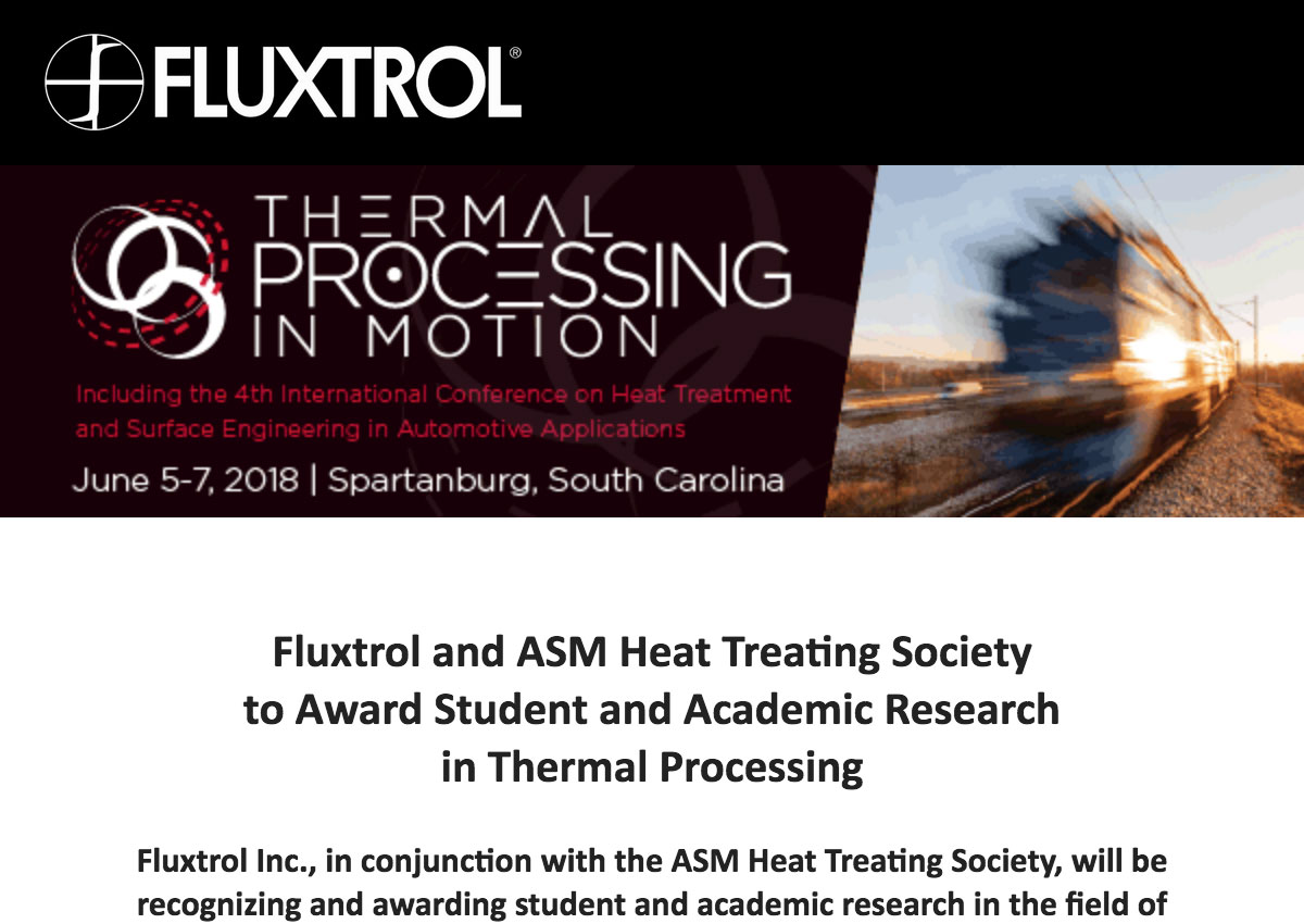 Fluxtrol Press Release - Fluxtrol-and-ASM-Heat-Treating-Society-to-Award-Student-and-Academic-Research-in-Thermal-Processing.jpg