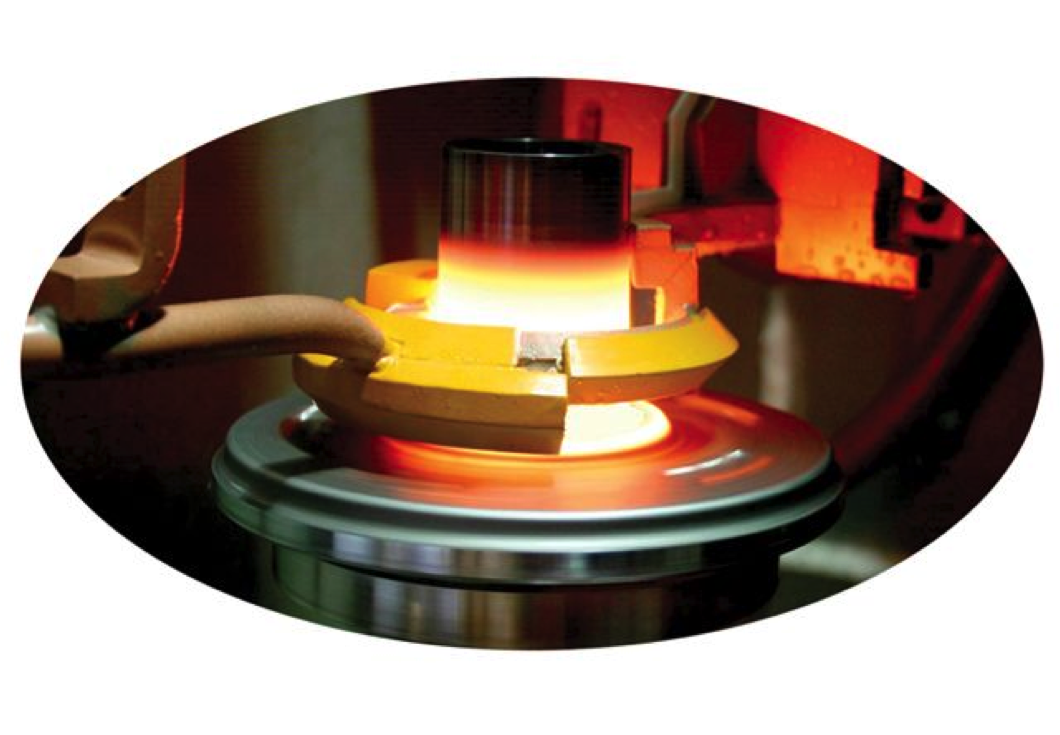 Fluxtrol | Applications of Induction Heat Treating - Automotive Wheel Hub Heating time 5 seconds