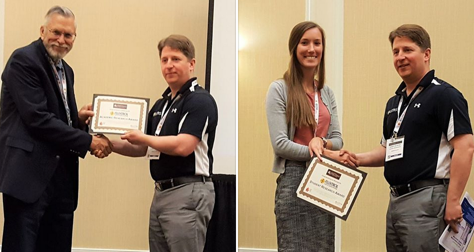 Fluxtrol Inc., and ASM Heat Treating Society, Recognized and Awarded Student and Academic Research in the field of Thermal Processing